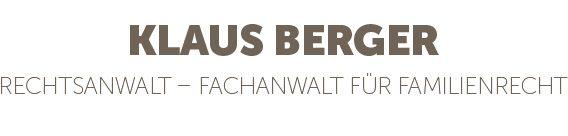 Rechtsanwalt Klaus Berger